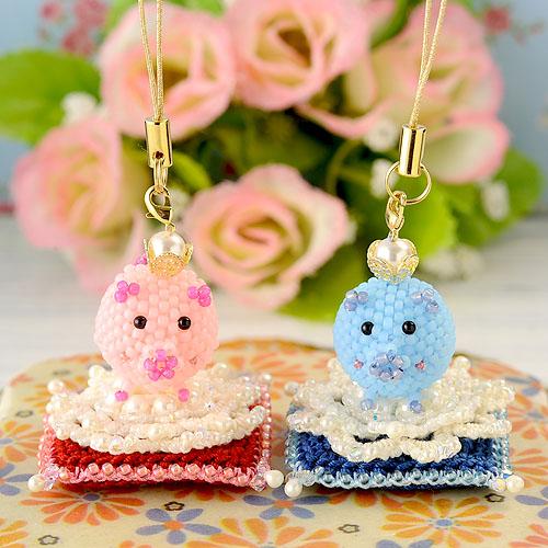 ブタに真珠のお座布団(コラボキット)『王女』  【作家:芝裕子・しのはらみわ】