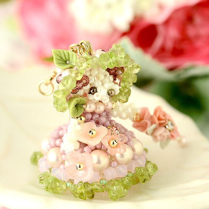 季節限定!!紫陽花の妖精 ピンク 【作家:Lovelyカオリ〜渡辺かおり〜】