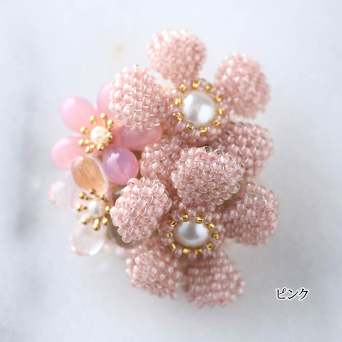 ☆1/19 再入荷☆ Floral ブローチ 【作家:新井桂子(Fairy-R)】