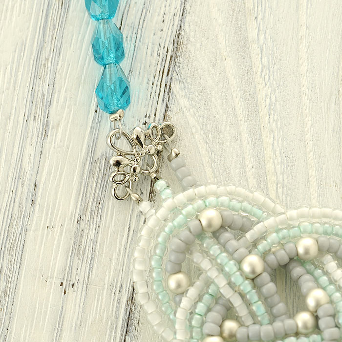 TOHO BEADS KNOT〜watery mint〜  BN-6