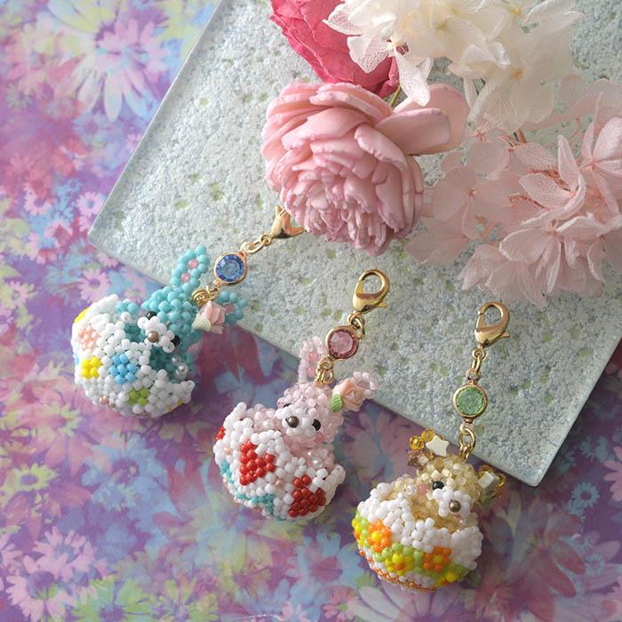 ☆2/5 再入荷☆ Sweet garden*ベア〜フラワー〜 【作家:Lovelyカオリ〜渡辺かおり〜・あわいしのぶ(Shinon*)】