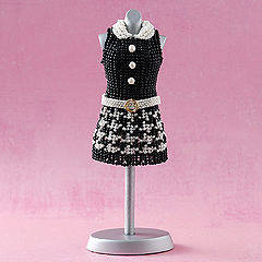 TOHO 千鳥格子のミニワンピース&ボストンバッグ  Dress series2-106