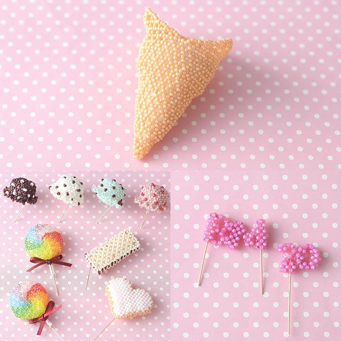 ビーズで編みぐるみ〜アイスクリーム・BM 20th Ver.〜  ビーズマニア