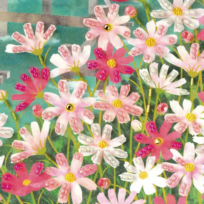 ビーズファクトリー 〜Beads Decor〜秋桜(10月) ※額は別売り BHD-158