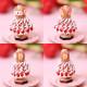 ☆1/28 再入荷☆ ビーズステッチで作るハニカムトルソードレス〜クレム〜 【作家:漆原昌美(Mai My Beads)】
