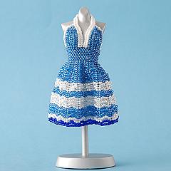 TOHO ホルターネックのリゾートドレス&ガーデンハット  Dress series2-107