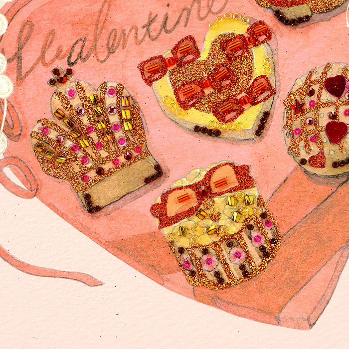 ビーズファクトリー 〜Beads Decor〜バレンタインチョコ(2月) ※額は別売り BHD-106