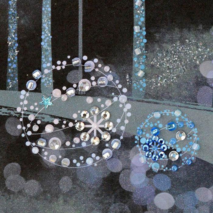 ビーズファクトリー 〜Beads Decor〜イルミネーション(11月) ※額は別売り BHD-159