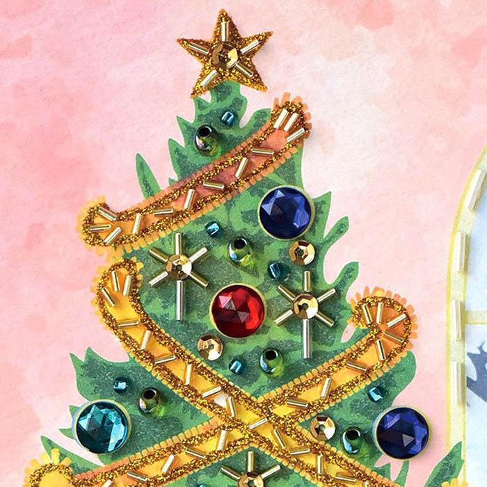 ビーズファクトリー 〜Beads Decor〜クリスマス(12月) ※額は別売り BHD-160