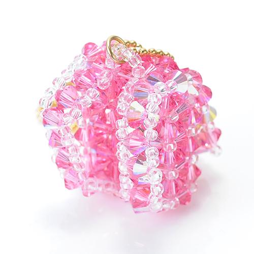 ランドセル2012バッグチャームキット(ピンク)  【作家:渡辺七重(N℃)】