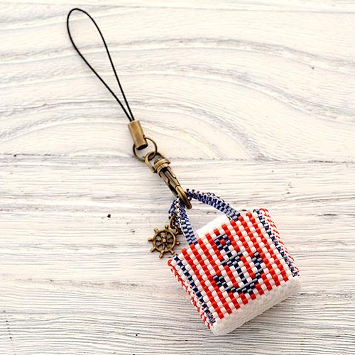 "Marine bag〜stripe〜  【作家:しのはらみわ(Little""B"".)】"