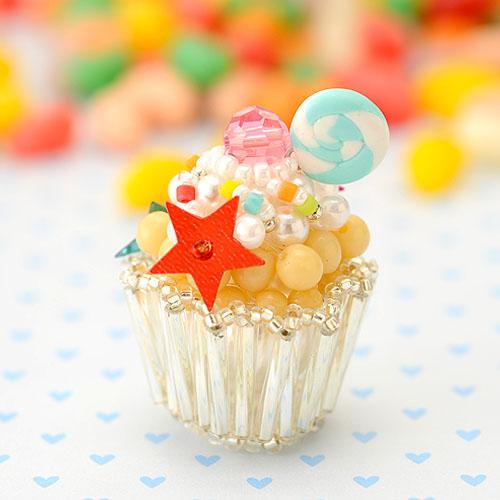 コロレ・カップケーキ  【ハンドメイド ビーズ 手作り キット】 ビーズマニア