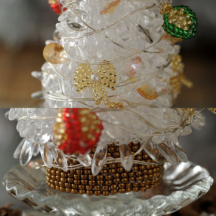 クリスマスツリー・カラーライトイルミネーション 【作家:渡辺七重(N℃)】