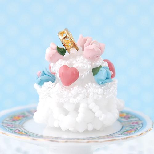 ウェディングケーキ キット  【作家:ちばのぶよ】