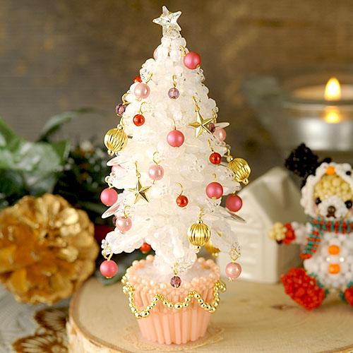 クリスマスツリー〜ホワイト〜  ビーズマニア