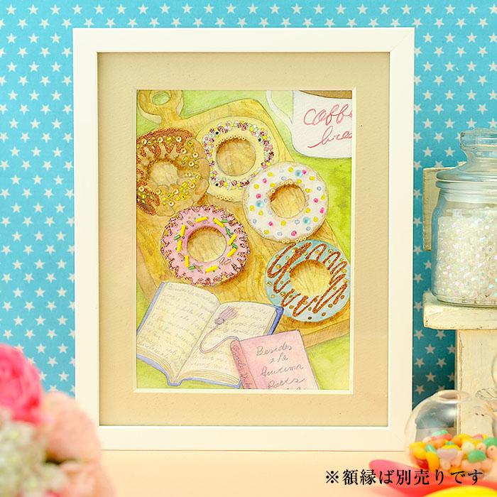 ビーズファクトリー 〜Beads Decor〜ドーナツ(9月) ※額は別売り BHD-113