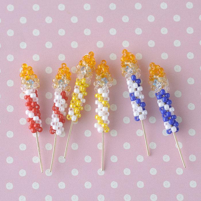 ビーズで編みぐるみ〜キャンドルセット〜 ビーズマニア