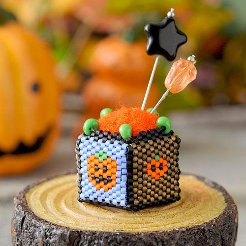 "Pumpkin pincushion 〜mini〜  【作家:しのはらみわ(Little""B"".)】"