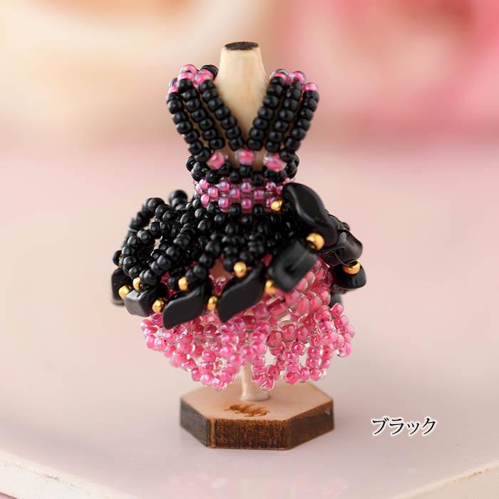 ビーズステッチでつくるハニカムトルソードレス〜プリシラ〜 【作家:漆原昌美(Mai My Beads)】