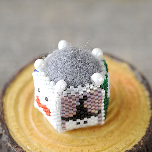 "Ghost pincushion 〜mini〜  【作家:しのはらみわ(Little""B"".)】"