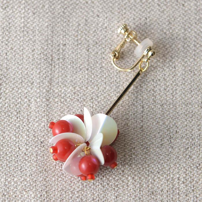 A Little Kit for Handcraft スパンコールのイヤリング