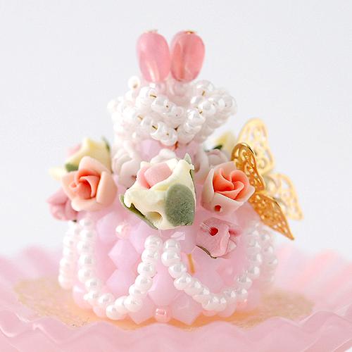 ローズガーデンケーキキット  【作家:ちばのぶよ】