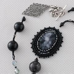 TOHO ≪フレーミングアクセサリー≫ジュエルネックレス〜ブラックダイヤモンド〜  フレーミングアクセサリー5