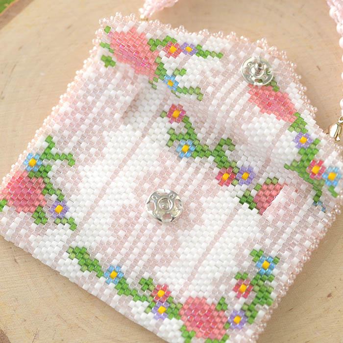 ロゼットミニ PINK  OT-144 【作家:新井桂子(Fairy-R)】