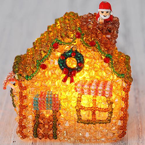 森のパン屋さん〜クリスマス〜LEDライト付き  【作家:ちばのぶよ】