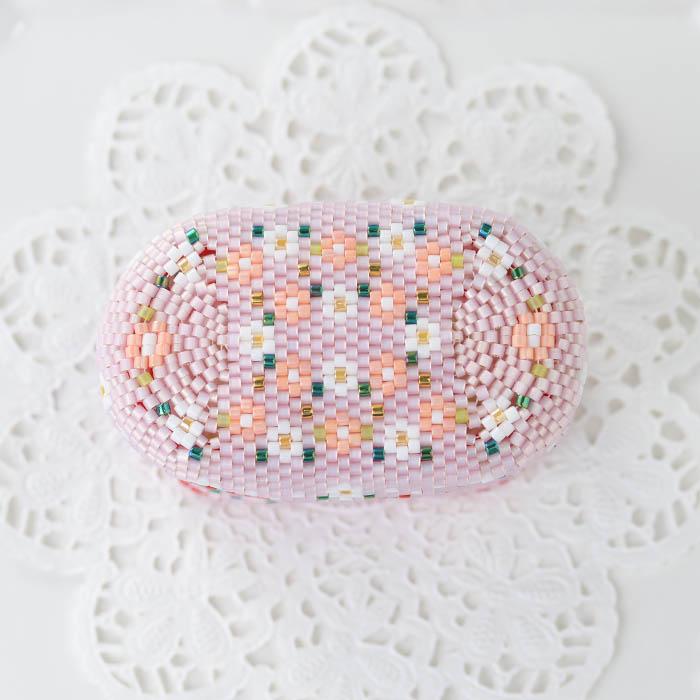 ★3/17 NEW★ ステッチボックス〜Strawberry・Pink〜  ビーズマニア