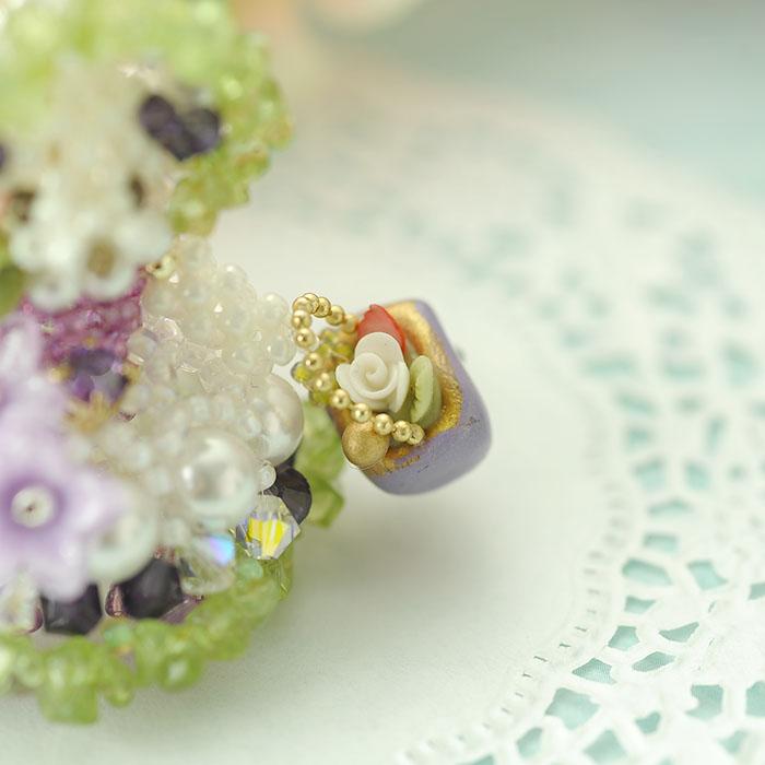 季節限定!!紫陽花の妖精 パープル  【作家:Lovelyカオリ〜渡辺かおり〜】