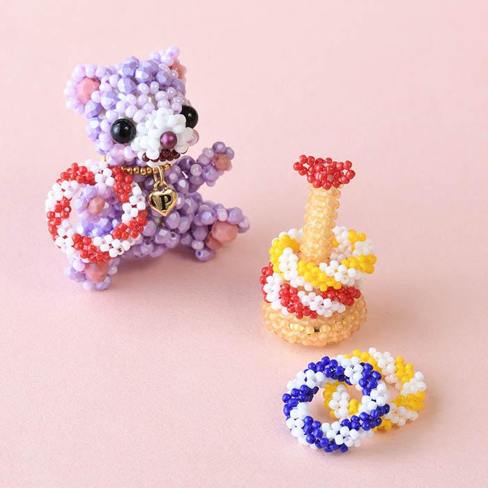 テディベアのお気に入り〜No.1 おもちゃ〜 ビーズマニア