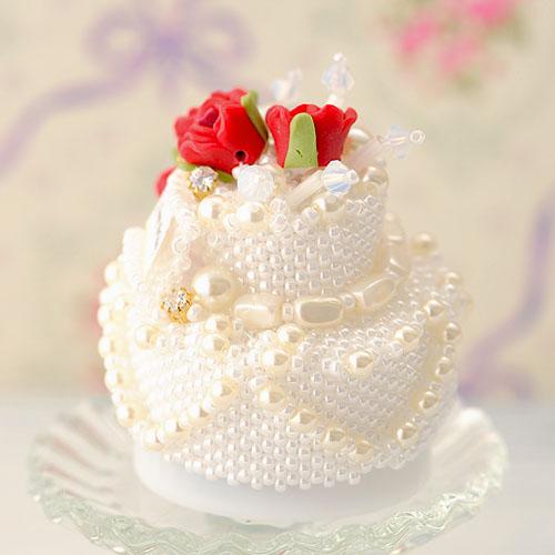 薔薇のバースデーケーキ   【作家:渡辺七重(N℃)】