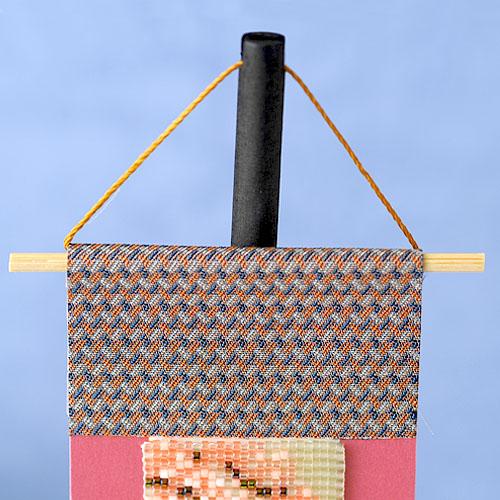 ビーズファクトリー デリカビーズ織り ミニ掛け軸キット〜日本の四季彩〜【富士山】  BHD-99