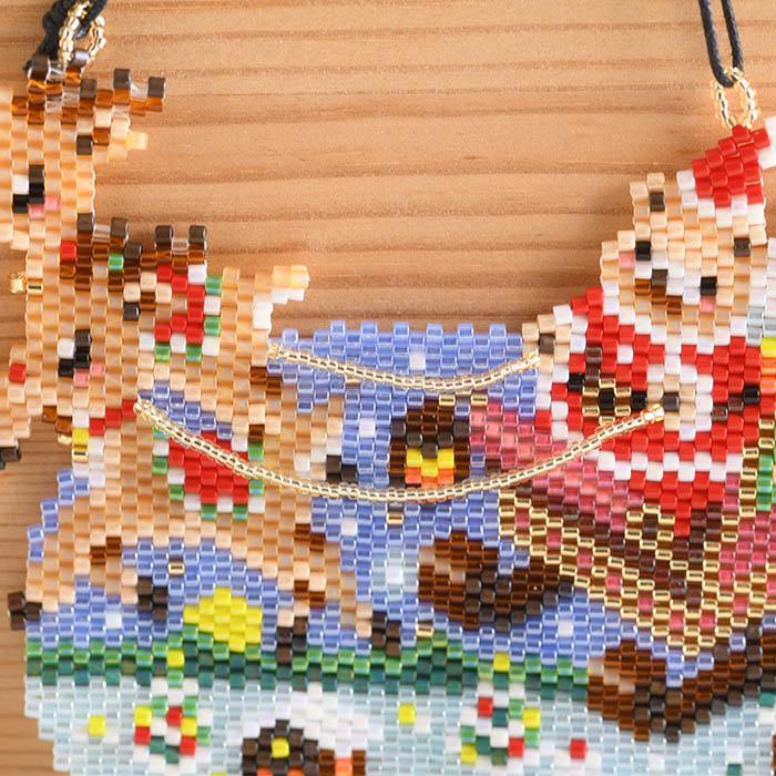 ★11/18 NEW★ ステッチタペストリー〜楽しいクリスマス〜  ビーズマニア