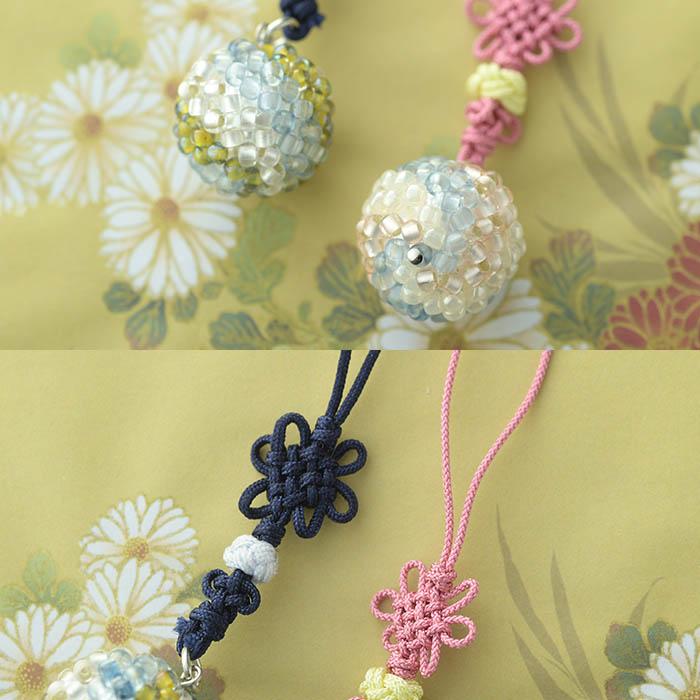 TOHO すくも藍Beadsキットシリーズ〜藍鞠(まり)〜  No.2