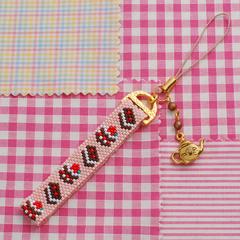 ビーズファクトリー チョコケーキ・ストラップ  BFK272