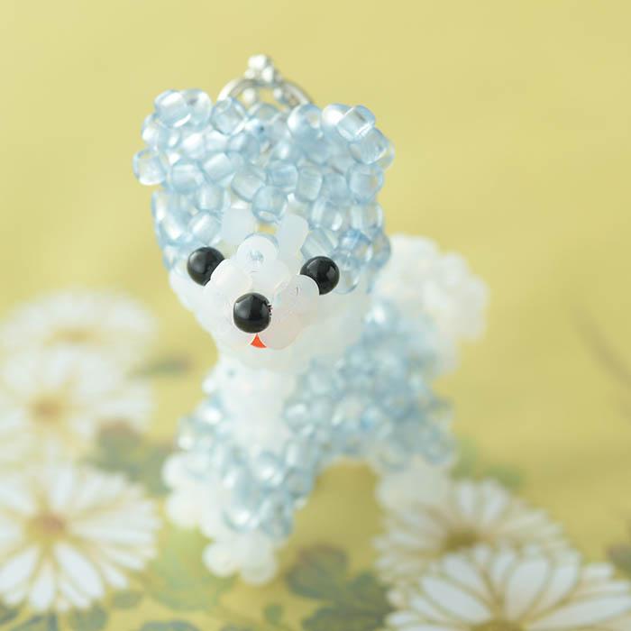 TOHO すくも藍Beadsキットシリーズ〜藍犬(柴犬)〜  No.4