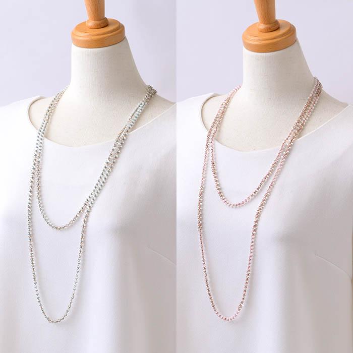 ☆7/27 再入荷☆ triangle lomg necklace 【作家:荒木晴美(atelier embellir)】