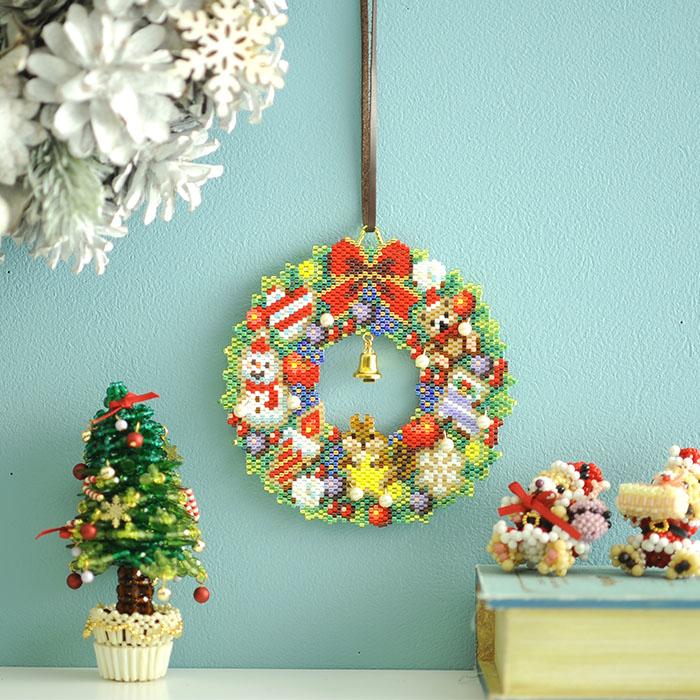 ステッチリース〜Merry Christmas〜 ビーズマニア