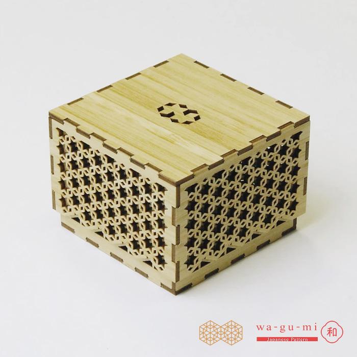 立体パズル 木製 wa-gu-mi ギフトボックス 帝つなぎ