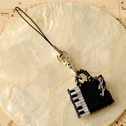 "Piano tote bag  【作家:しのはらみわ(Little""B"".)】"