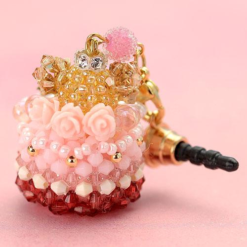 プリンセスくまさん☆ケーキ(ローズ)  【作家:Lovelyカオリ〜渡辺かおり〜】