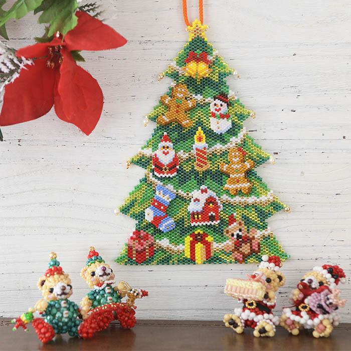 ☆10/14 再入荷☆ ステッチタペストリー〜クリスマスツリー〜  ビーズマニア
