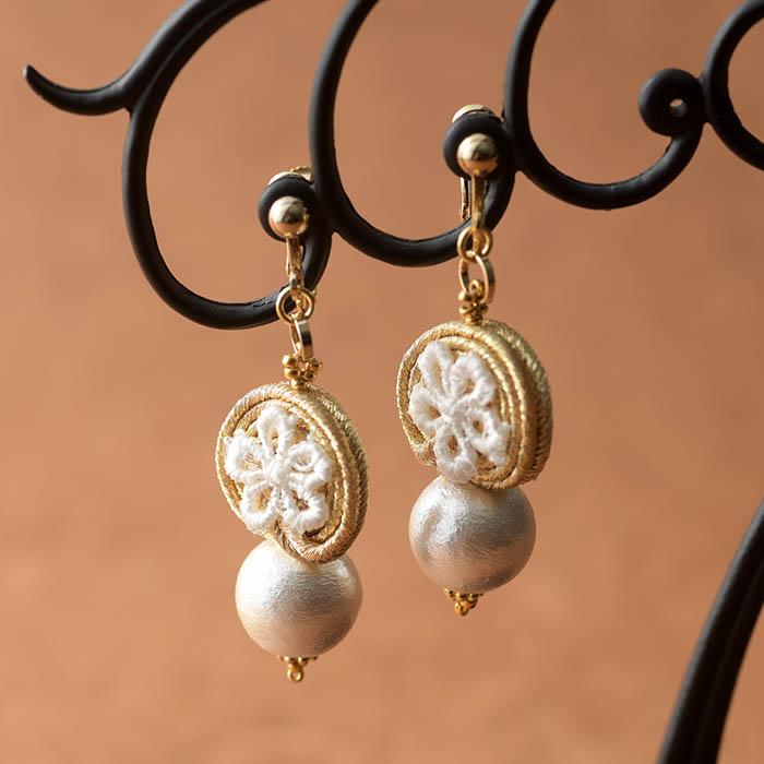 soutache juwelry  Juliette〜ジュリエット〜  【作家:Miki Kanai(Beads mode C'est la vie)】