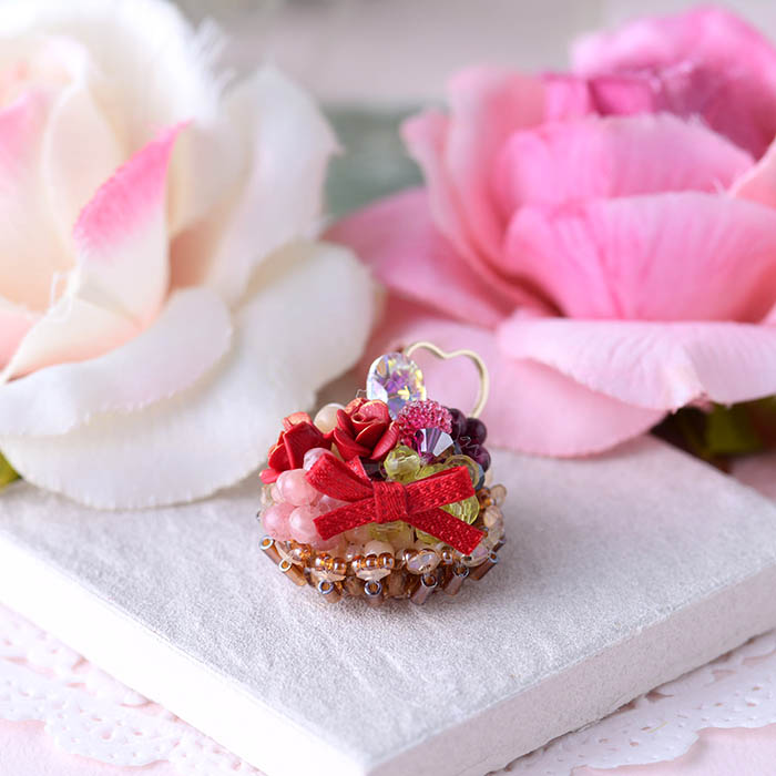 ★2/12 NEW★ 薔薇とベリーのタルト  【作家:NARUMIDO】