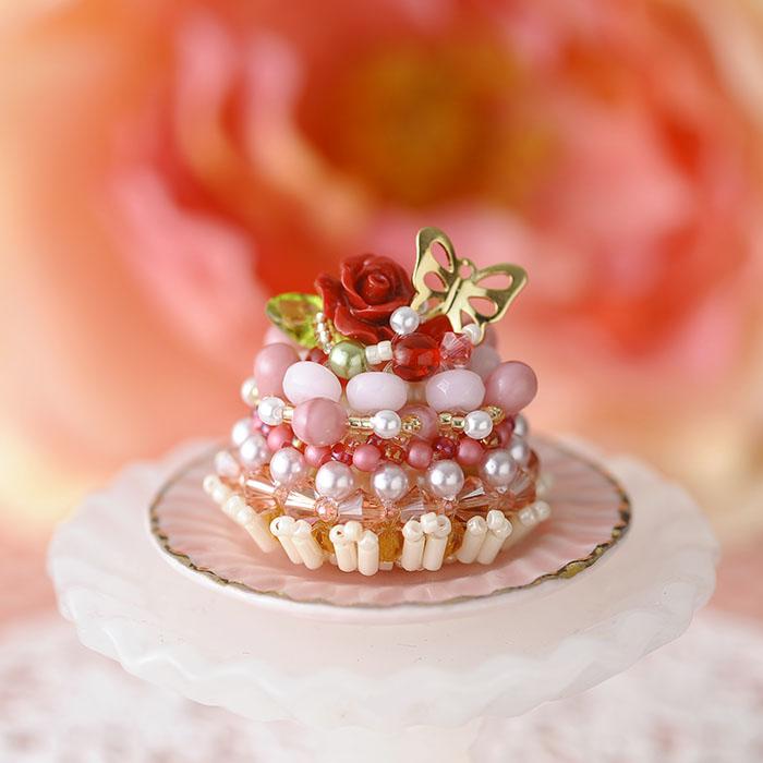 Sweetテディベア〜La peche・ラペーシュ〜 ビーズマニア