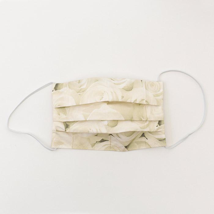 ペーパーナプキンで作る使い捨てマスク材料セット31 ホワイトローズ