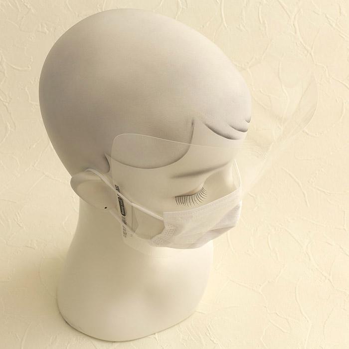 マスクにつけるフェイスガード/100枚入
