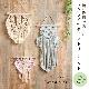 キット/結び模様が美しいマクラメのタペストリー2 エターナル〜ホワイト&ピンク〜